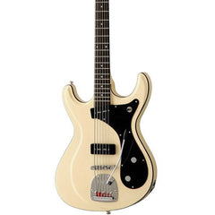 Eastwood Guitars Sidejack Bass VI – Vintage Cream – Mosrite / Fender Bass VI –inspired Bass Guitar – NEW!