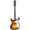 Eastwood Guitars Sidejack 12 Sunburst Full Front