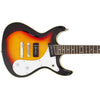 Eastwood Guitars Sidejack 12 Sunburst Closeup