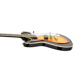 Eastwood Guitars Sidejack 12 STD - Sunburst - Mosrite-inspired 12-string electric guitar - NEW!