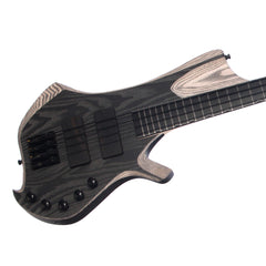 Padalka Guitars ENNEA NAMM Bass - Black - Custom Hand-Made Boutique Electric - NEW!