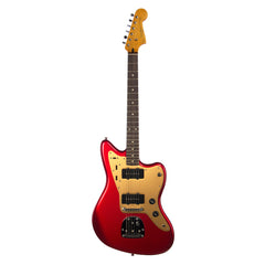 Squier Deluxe Jazzmaster Tremolo electric guitar - Candy Apple Red - New!