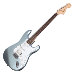 Squier Affinity Series Stratocaster HSS - Slick Silver - Fender Electric Guitar for Beginners, Students - NEW!