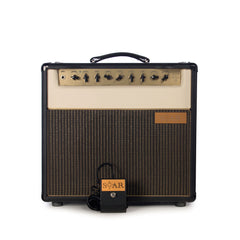 Star Amps Gain Star 15 watt 1x12 combo - Black / Cream with Gold Panel, Hand-Wired, Class A, Boutique Tube Guitar Amplifier - USED!