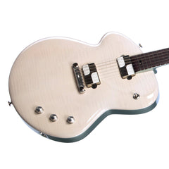 "Tao Guitars Disco Volante ""Ko Kumo"" - Custom Boutique Hand-Made Electric Guitar - Translucent White - NEW!"