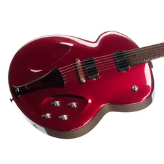 "Tao Guitars Phaeton ""Giacomo"" - Custom Boutique Hand-Made Archtop Electric Guitar - Metallic Red - NEW!"
