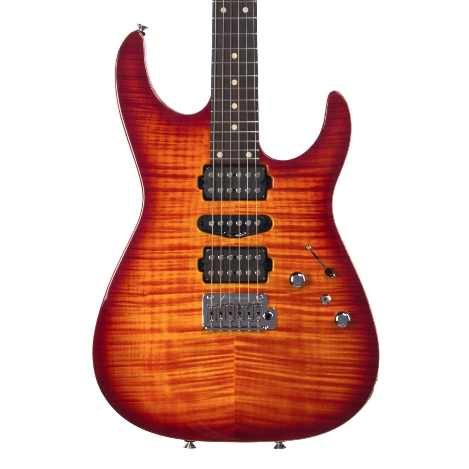 tom anderson guitars angel fire burst 24 fret custom make 39 n music. Black Bedroom Furniture Sets. Home Design Ideas