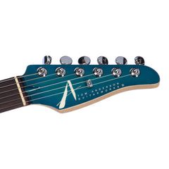 Tom Anderson Guitars Drop Top Classic - Bora to Transparent Blue Burst w/ Binding - Custom Boutique Electric Guitar - New!