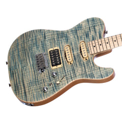 Tom Anderson Drop Top T - Custom Boutique Electric Guitar - Satin Natural Arctic Blue - NEW!