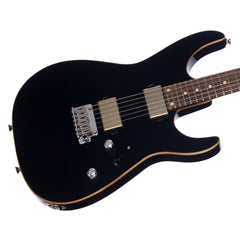 Tom Anderson Angel Player - Black with Binding - 24 fret Custom Boutique Electric Guitar - NEW!