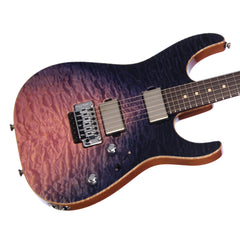 Tom Anderson Arc Angel - Purple WakeSurf - 24 fret Drop Top - Custom Boutique Electric Guitar - NEW!