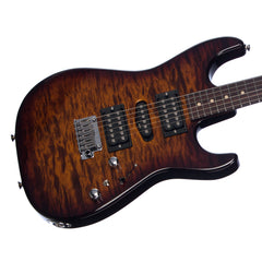 Tom Anderson Drop Top - Tiger Eye Burst - Quilt Maple - Custom Boutique Electric Guitar - New!