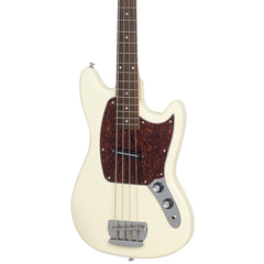"Eastwood Guitars Warren Ellis Bass - Vintage Cream - 30 1/2"" Short Scale Offset Electric Bass Guitar - NEW!"