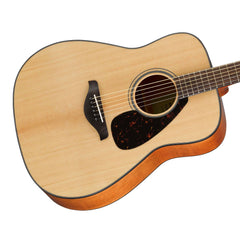 Yamaha FG800 Natural - Solid Top Dreadnought Acoustic Guitar for Beginners and Students - 889025103664 - NEW!