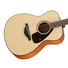 Yamaha FS800 Natural - Solid Top Acoustic Guitar for Beginners and Students - 889025103954 - NEW!