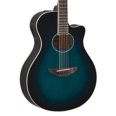 Yamaha Guitars APX600 - Oriental Blue Burst - Acoustic Electric Thinline Cutaway 889025115056 - NEW!
