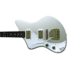 Senn by Eastwood Model One Baritone LEFTY - Sonic Silver - Left Handed Jeff Senn Offset Electric Guitar - NEW!