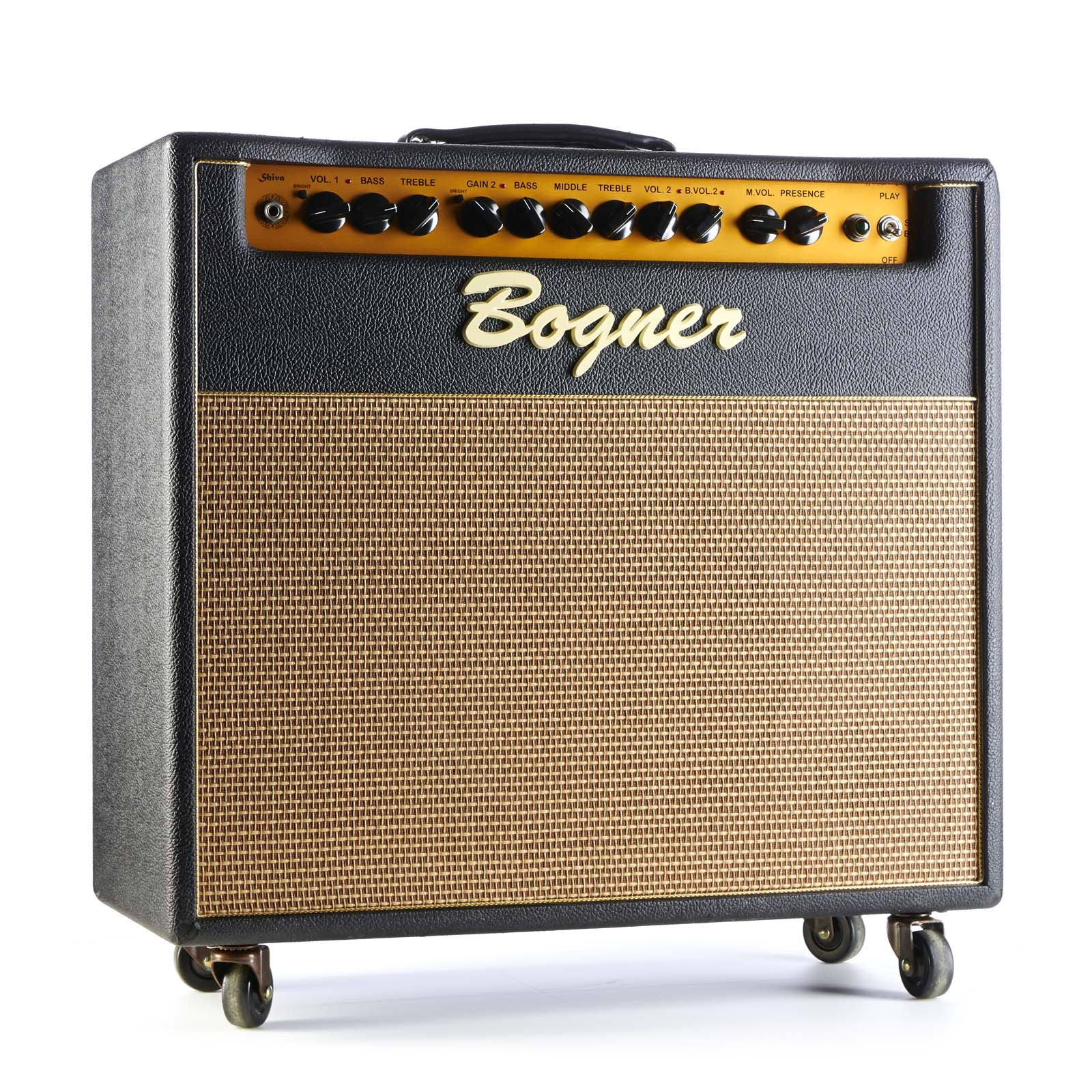 huge inventory thoughts on cute Used Bogner Shiva EL-34 1x12 combo w/Reverb   Make'n Music