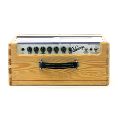 USED Carr Amps Viceroy 1x12 combo - NAMM SHOW CUSTOM Plexi and Raw Pine Cabinet- Tube Guitar Amplifier