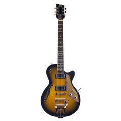 Duesenberg Guitars Starplayer TV - DTV-2T - Two Tone Sunburst semi-hollow electric guitar - NEW!