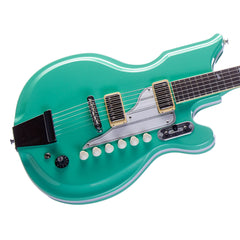 Airline Guitars '59 Newport - Seafoam Green- National Val-Pro 88 Reissue - NEW!