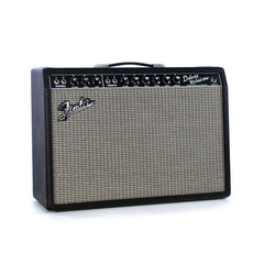 Fender '65 Deluxe Reverb 1x12 Combo - Blackface - Vintage Reissue Tube Guitar Amplifier - NEW!