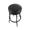"Fender Blackout Barstool - 30"" Tall - Black Swivel Bar Stool, NEW!"