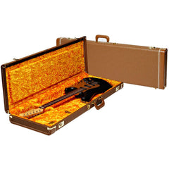 Fender Deluxe Brown G&G Hardshell Case for Strat / Tele 0996108422