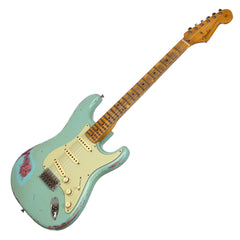 Fender Custom Shop 1958 Stratocaster Heavy Relic - Masterbuilt Todd Krause - Daphne Blue / Paisley