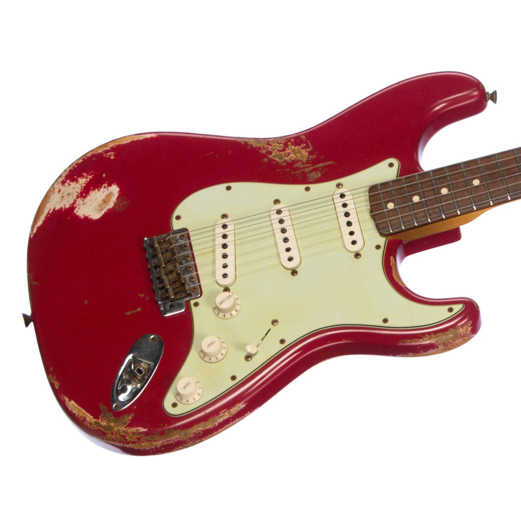 Fender Custom Shop 1960 Stratocaster Heavy Relic - Dakota Red