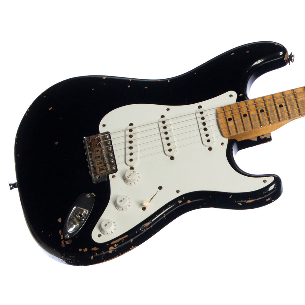 Used Fender Custom Shop Eric Clapton Blackie Tribute Stratocaster Relic