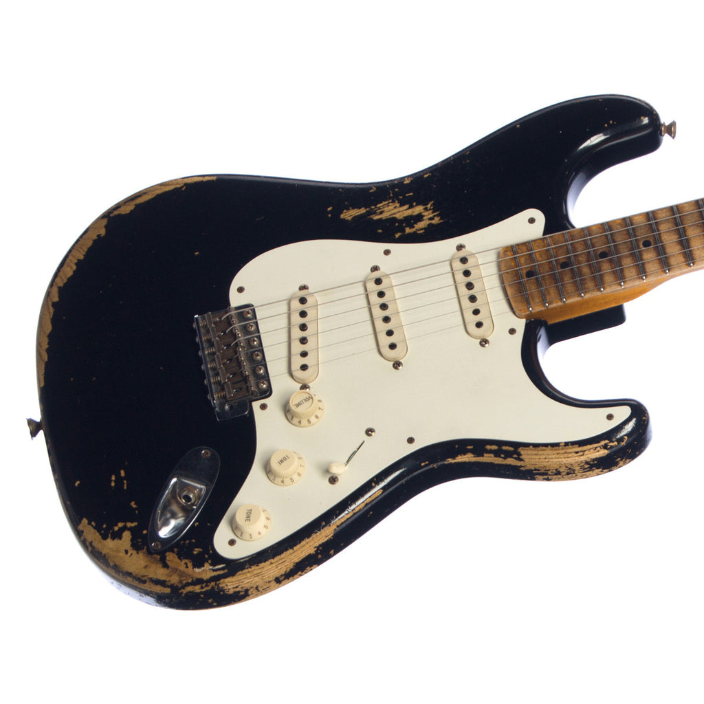 Used Fender Custom Shop MVP Series 1956 Stratocaster Heavy Relic - Black
