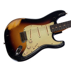 Fender Custom Shop MVP Series 1960 Stratocaster Heavy Relic Masterbuilt John Cruz - Three Tone Sunburst
