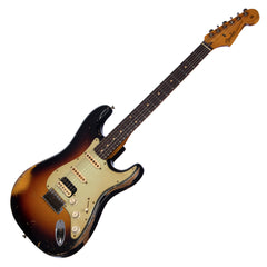 Fender Custom Shop MVP Series 1960 Stratocaster HSS Heavy Relic Masterbuilt John Cruz - Three Tone Sunburst