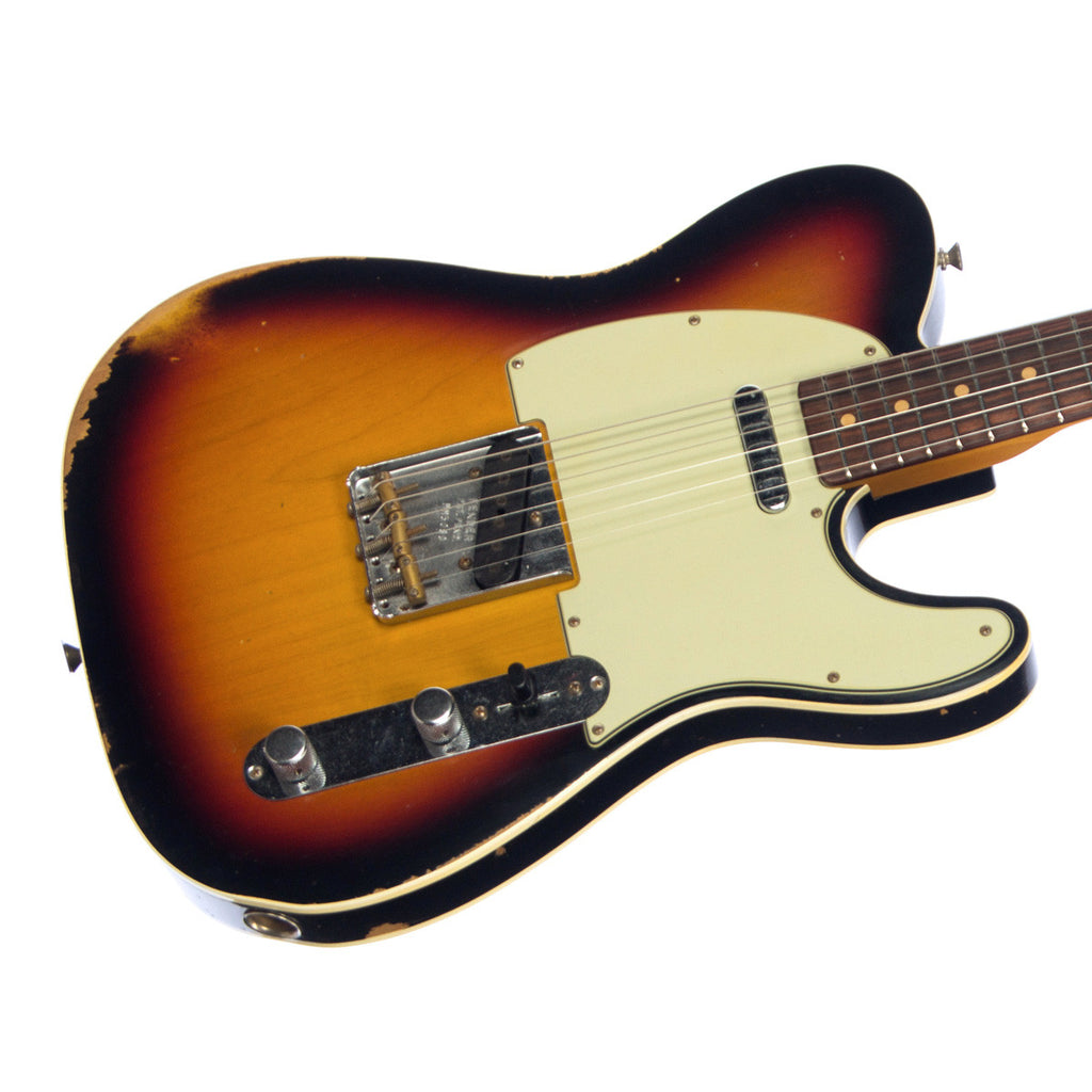 Fender Custom Shop MVP Series 1960 Telecaster Custom Relic - Three Color Tone Sunburst
