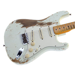 Fender Custom Shop MVP Series 1969 Stratocaster Heavy Relic - Olympic White