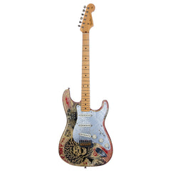 Fender Custom Shop 1950's Stratocaster Relic Shepard Fairey Original Artwork