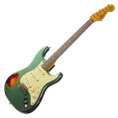 Fender Custom Shop 1960 Stratocaster Heavy Relic NAMM SHOW Limited Edition - Sherwood Green Sunburst