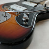 Eastwood Guitars Eastwood Fireball Sunburst Closeup