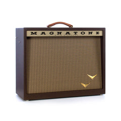 Magnatone Amps Panoramic Stereo 2x10 combo w/ True Pitch Shifting Vibrato, Tremolo and Reverb - Tube Guitar Amplifier