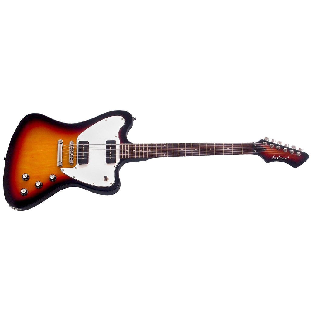 Eastwood Guitars Stormbird - Sunburst - Non Reverse Offset Electric Guitar - NEW!