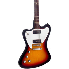 Eastwood Guitars Stormbird LEFTY - Sunburst - Left-Handed Non-Reverse Offset Electric Guitar - NEW!
