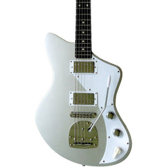 Senn by Eastwood Model One Baritone - Sonic Silver - Jeff Senn Offset Electric Guitar - NEW!