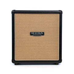 Mesa Boogie Amps 1x12 Mini Rectifier Straight Cabinet - Black w/ Custom Tan Jute Grille