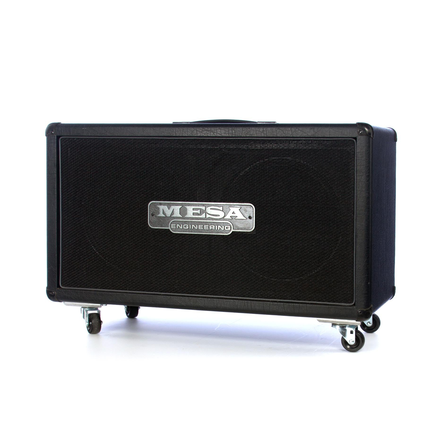 Used Mesa Boogie 2x12 Rectifier Horizontal guitar speaker cabinet ...