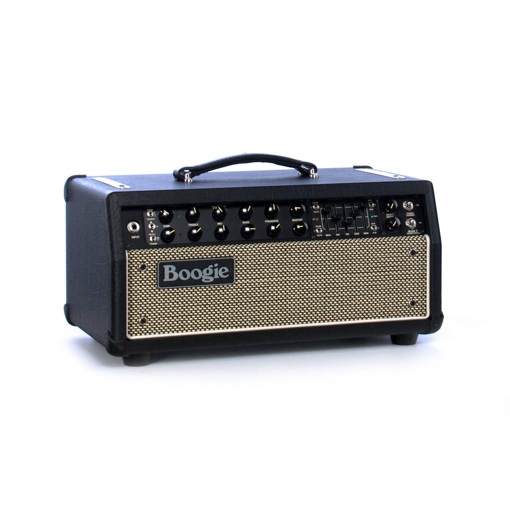 Mesa Boogie Amps Mark Five 35 head - Custom Cream and Black Grille - Tube Guitar Amplifier w/ Built-in Cab Clone DI - NEW!