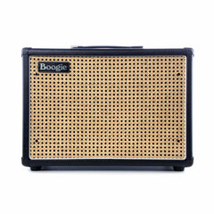 Mesa Boogie Amps 1x12 Widebody Closed Back Compact Guitar Amplifier Speaker Cabinet - Black w/ Custom Wicker Grille