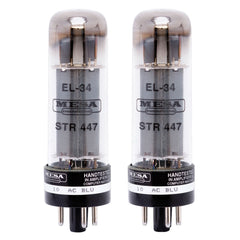 Mesa Boogie Amps EL34 STR-447 Duet - Matched Pair of Power Tubes for Guitar Amplifier