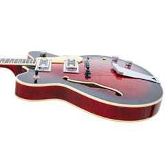 Eastwood Guitars Classic Tenor - Redburst - Hollowbody Electric Tenor Guitar - NEW!