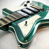 Eastwood Guitars Rivolta Mondata STD Laguna Blue Head Back